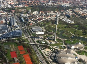 Munich Olympic area